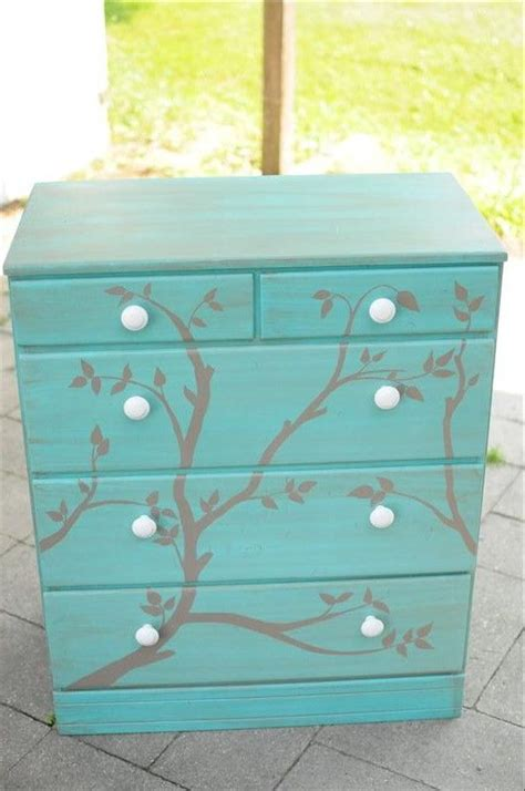 Turquoise Painted Dresser by Turquoise Painted Dresser Furniture Re Do S