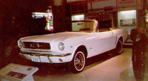 first mustang ever made first mustang