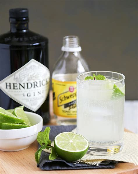 how to mix the perfect gin and tonic recipe dishmaps