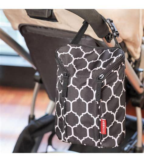 Skip Hop Grab Go Bags Onyx Tile Skip Hop Grab Go Bottle Bag Onyx Tile