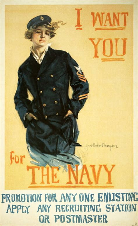 Plakat We Want You by I Want You For The Navy World War I Poster