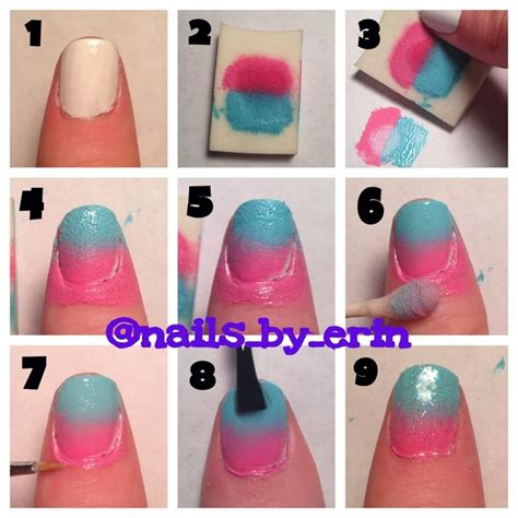 Nagel Tutorial by Ombre Nail Tutorial My Nail Tutorials