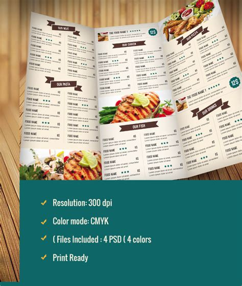 menu layout psychology 9 the psychology of a good menu designs free premium