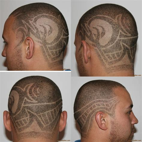 tribal pattern hair abstract tribal hair etching by risqtaker on deviantart