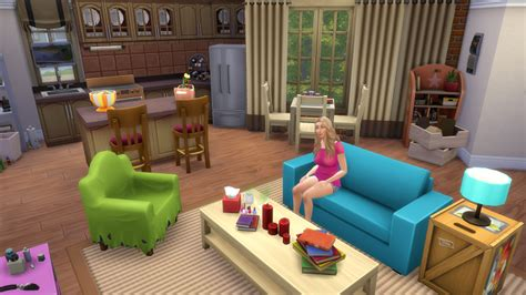 the big theory haus big pasadena sims 4 nathalies simswelt