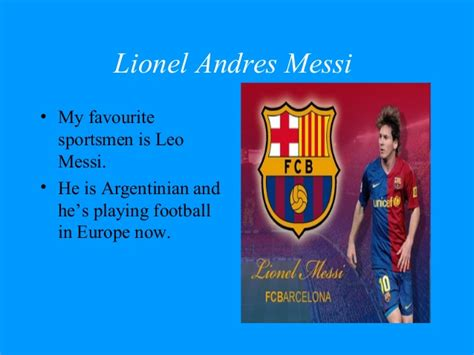 lionel messi biography powerpoint messi