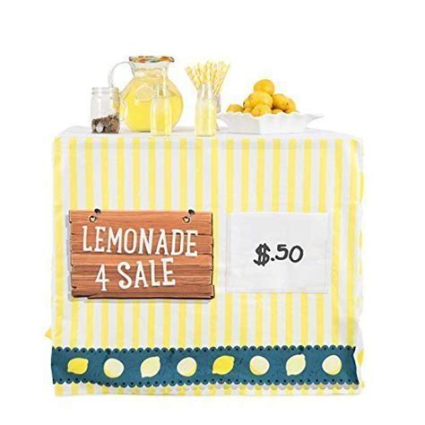 sanders classics card table covers hideaboo lil biz easy lemonade stand card table cover