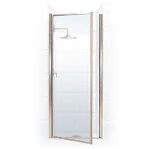 home depot glass shower doors coastal shower doors legend series 33 in x 64 in framed