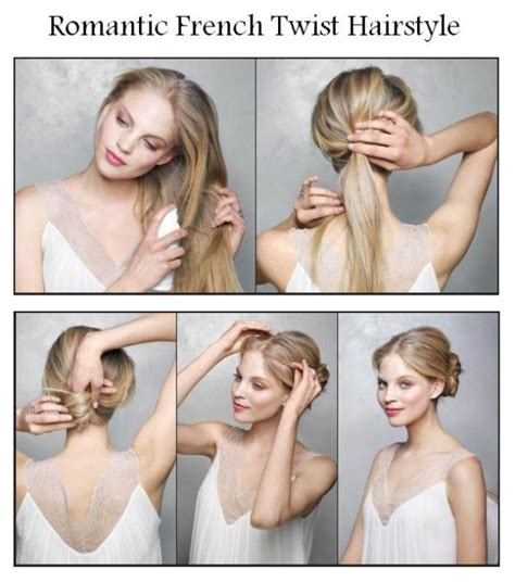 how to do french twist hairstyle 14 simple hairstyle tutorials for summer pretty designs