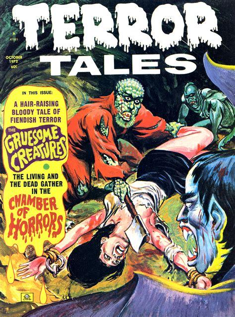 Tales Of Terror brains terror tales eerie publications 1969 79