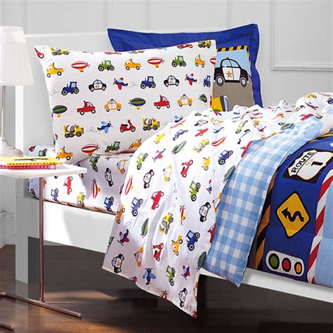 dream factory bedding dream factory trucks mini bed in a bag bedding set free