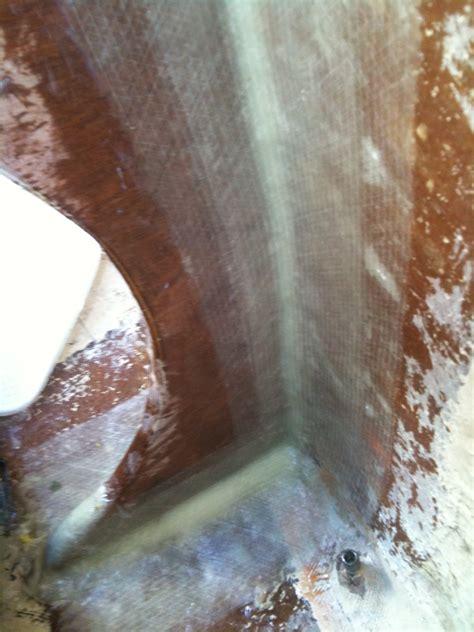 1708 Fiberglass Mat by Rebuilding The Backstay Bulkhead Water Issue Matt