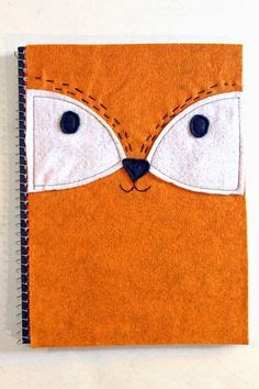 Fox Bahan Craft Diy jazz notebook labels and cool stickers on