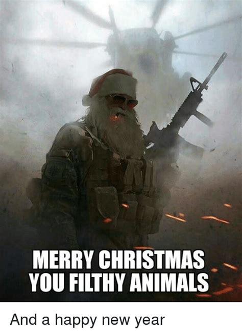 Merry Christmas You Filthy Animal Meme - happy new year ya filthy animal gallery new year images