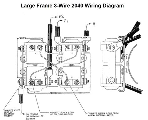 ramsey rep 8000 winch wiring diagram design ramsey