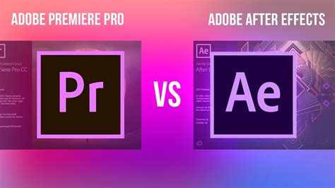 adobe premiere pro or after effects adobe premiere pro vs after effects cc what s the