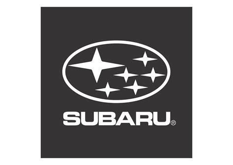 Subaru Black White Design Logo Vector Format Cdr Ai