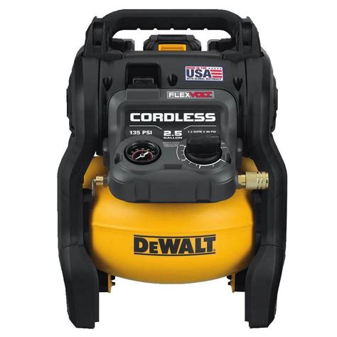 dewalt dcc2560t1 flexvolt 60 volt 2 5 gallon cordless air compressor kit investments hardware
