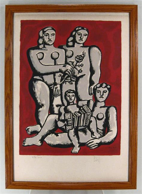 les trois soeurs french igavel auctions fernand leger french 1881 1955 quot les trois soeurs et enfant au l accordeon