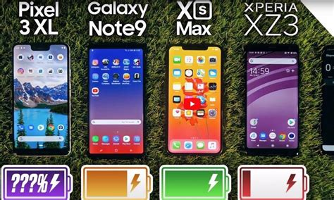 iphone xs max dominates android rivals in new battery drain test