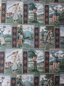 golf upholstery fabric golf tapestry upholstery fabric oldtrailfabric com