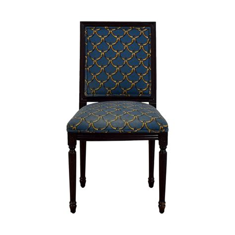 Upholstered Armchairs Sale Design Ideas 83 Ballard Designs Ballard Designs Blue And Gold Upholstered Side Chair Chairs