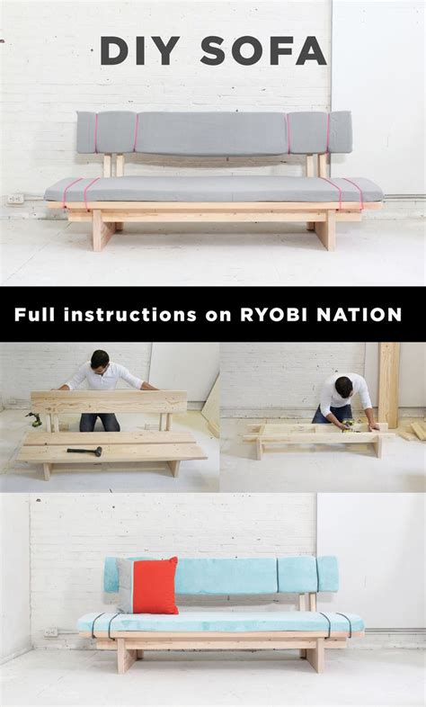 sofa for less than 100 25 best ideas about diy sofa on diy