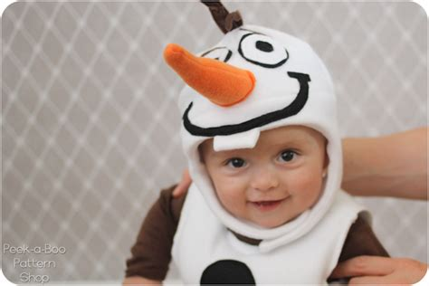Olaf Swimsuit Hat olaf inspired costume tutorial peek a boo pages