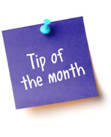 of the month tip of the month sports central