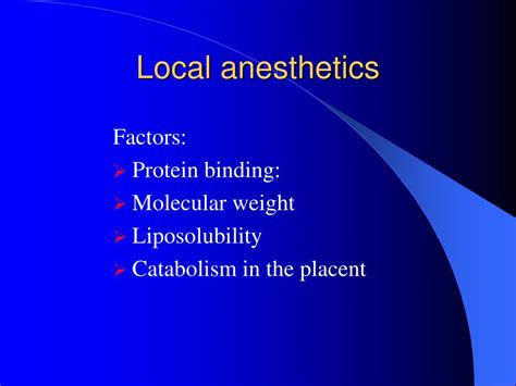 Cesarean Section Local Anesthesia by Ppt Anesthesia For Obstetrics Department Of