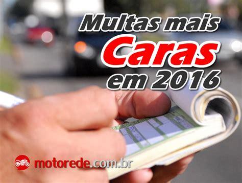 valores de multa de motos 2016 novos valores multas transito 2016 motorede