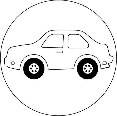car coloring page outline car pictures page