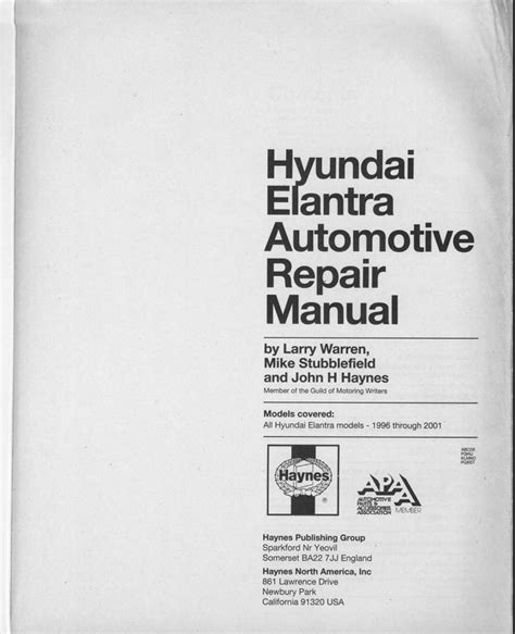car repair manuals online pdf 1996 mazda b series navigation system download hyundai elantra service manual zofti free downloads