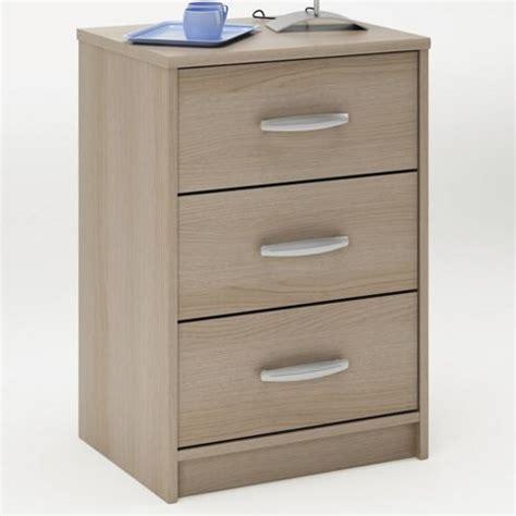 Oak Veneer Bedside Cabinets by Buy Altruna Elmont Bedside Cabinet In Light Oak Veneer