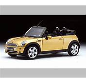 Kyosho MINI Cooper Convertible  Gold 08559GL In 118