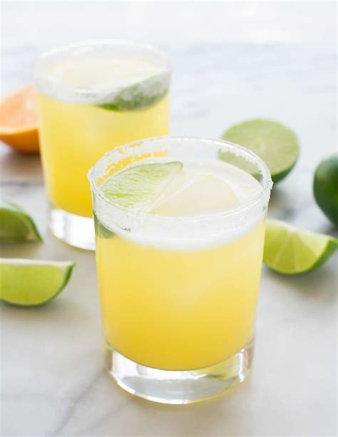 margarita on the margarita recipe with agave and lime