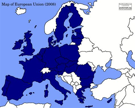 european union map political blank map europe european union