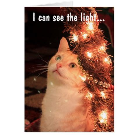 I Can See The Light i can see the light card zazzle