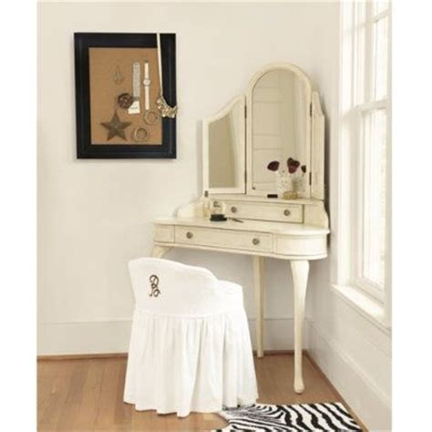 small bedroom vanity neat and tidy corner unit house pinterest classy