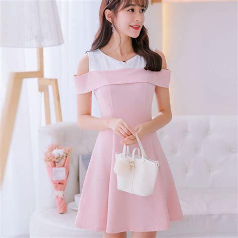 korean summer dress clothing slim show thin