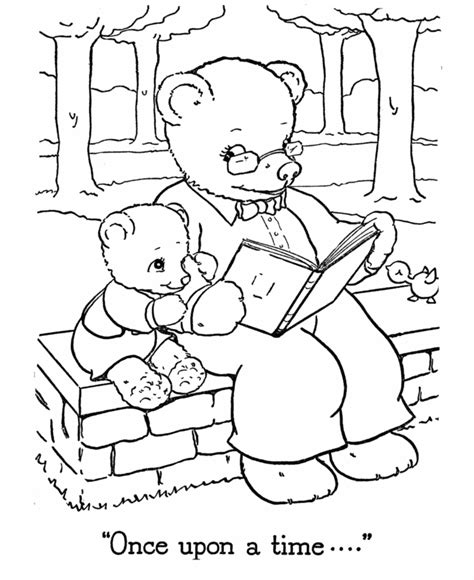 charlie bear coloring pages teddy bear color page coloring home