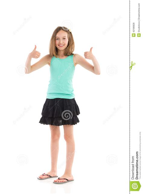 young girl skirt little girl success stock photo image of content