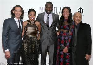 Become A Makeup Artist Online Naomie Harris Shows Off Toned Tummy In Sheer Dress While Idris Elba Looks Dapper In A Grey Suit