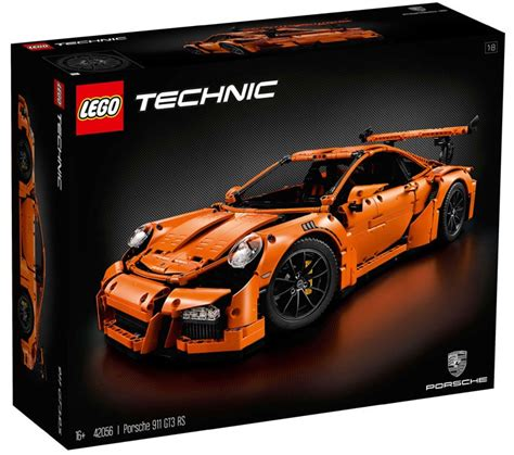 Porsche 911 Aufkleber Kofferraum by Lego Technic Porsche 911 Gt3 Rs 42056 Unboxing Power