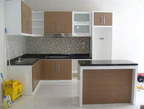 kitchen set design gambar kitchen set kecil keren dapur minimalis idaman