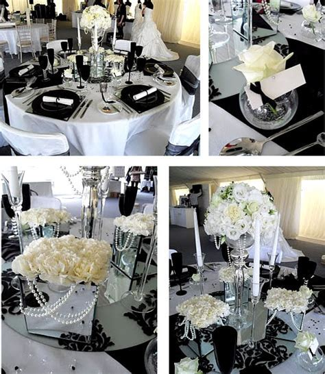 Royal Wedding Accessories: Black and White Wedding