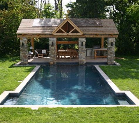 Outside Patios Designs Traditional Patio Design Ideas With Fireplace And Wooden Pergola And Swimming Pool With Green