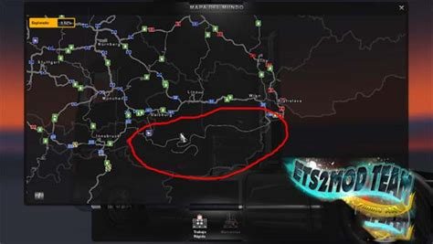 ets2 uk map maps bestmods net