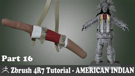 zbrush tutorial in hindi zbrush 4r7 american indian character modeling new