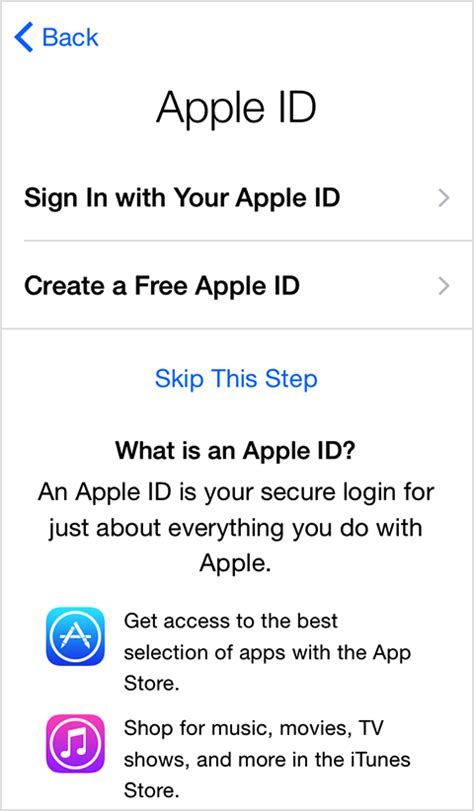 how to make a us apple id without credit card get started with iphone and ipod touch apple support